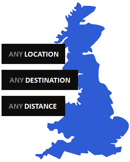 Any UK location and distance